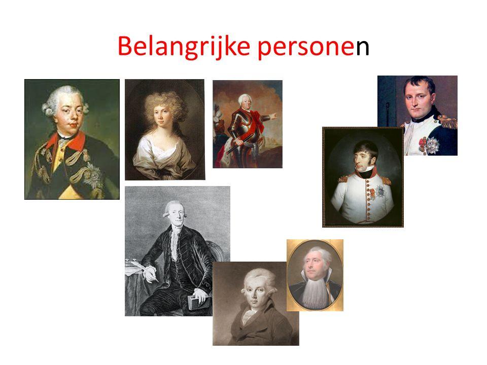 Belangrijke personen
