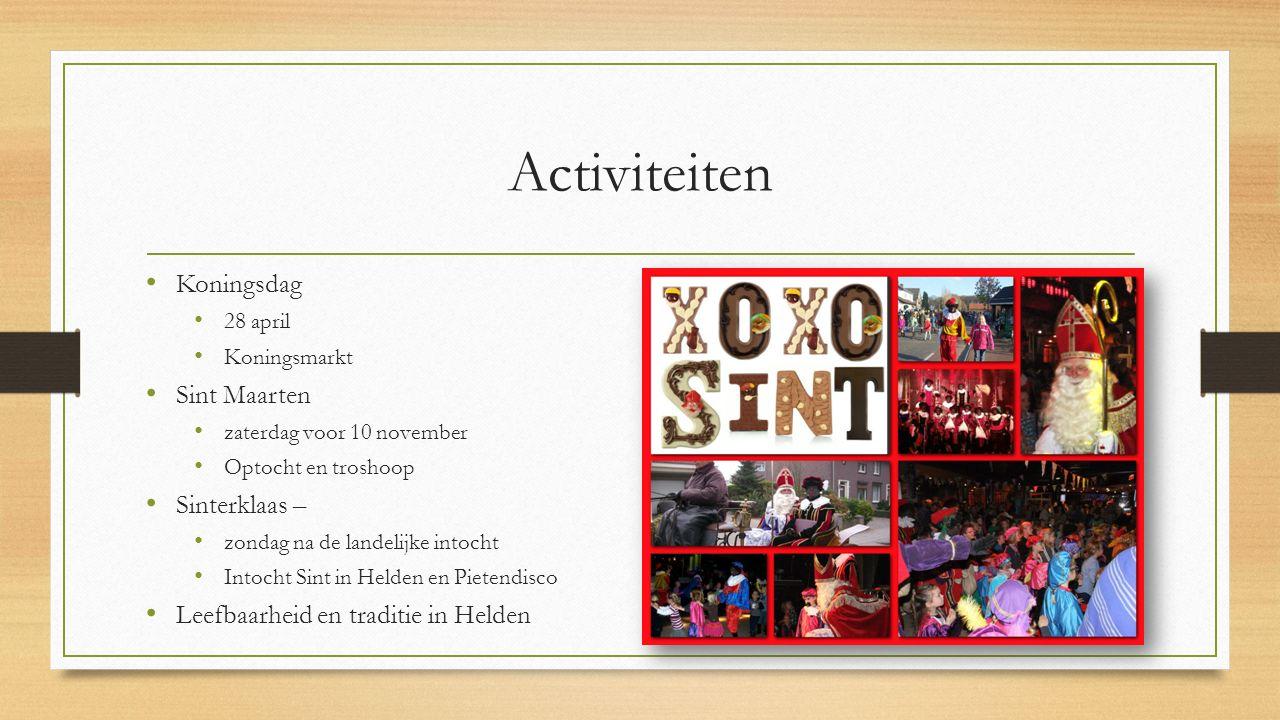 Activiteiten Koningsdag Sint Maarten Sinterklaas –