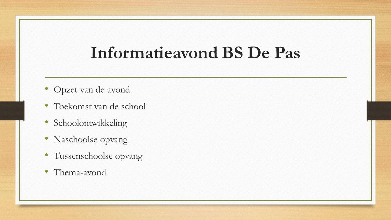 Informatieavond BS De Pas