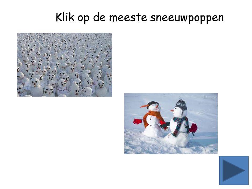 Klik op de meeste sneeuwpoppen