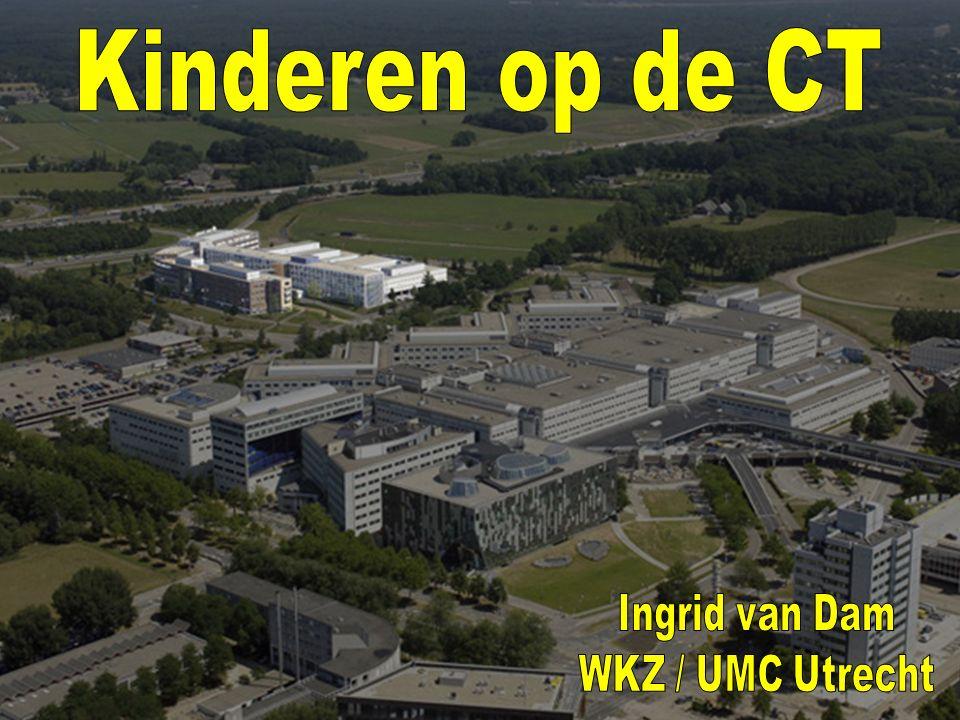 Kinderen op de CT Ingrid van Dam WKZ / UMC Utrecht