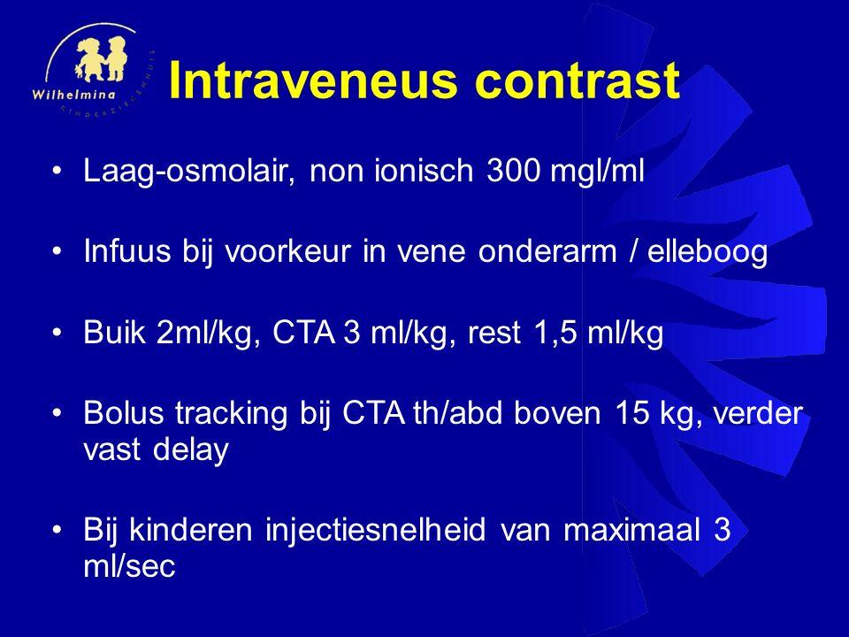 Intraveneus contrast Laag-osmolair, non ionisch 300 mgl/ml
