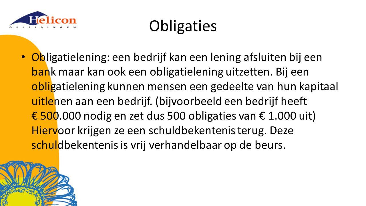 Obligaties
