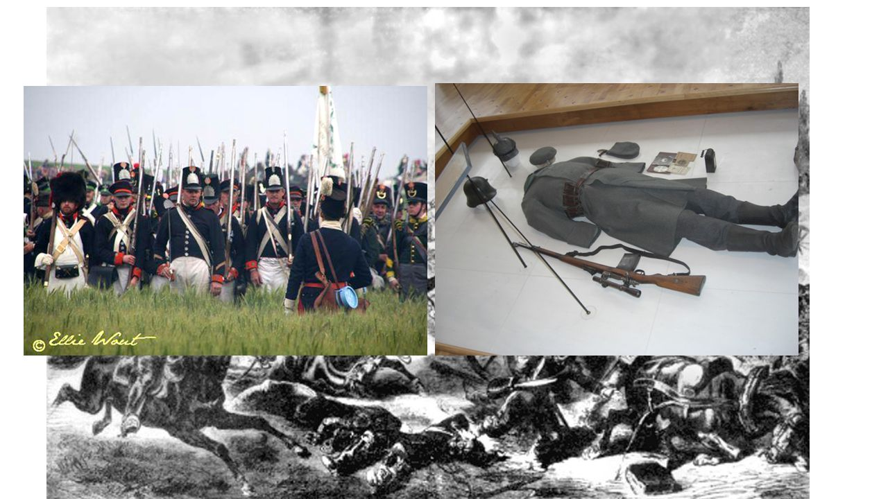 Oorlogsvoering in de 18e/19e eeuw
