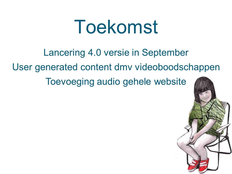 Toekomst Lancering 4.0 versie in September