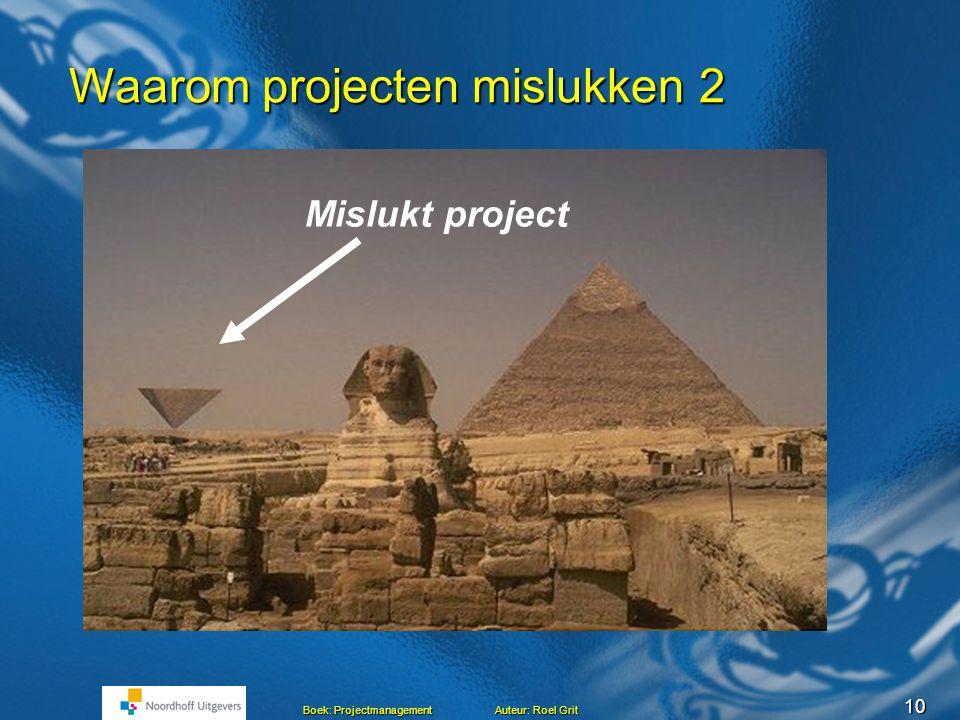 Waarom projecten mislukken 2