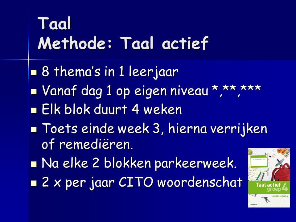 Taal Methode: Taal actief