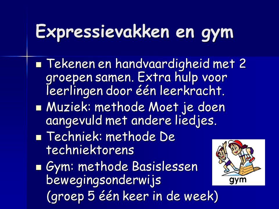 Expressievakken en gym