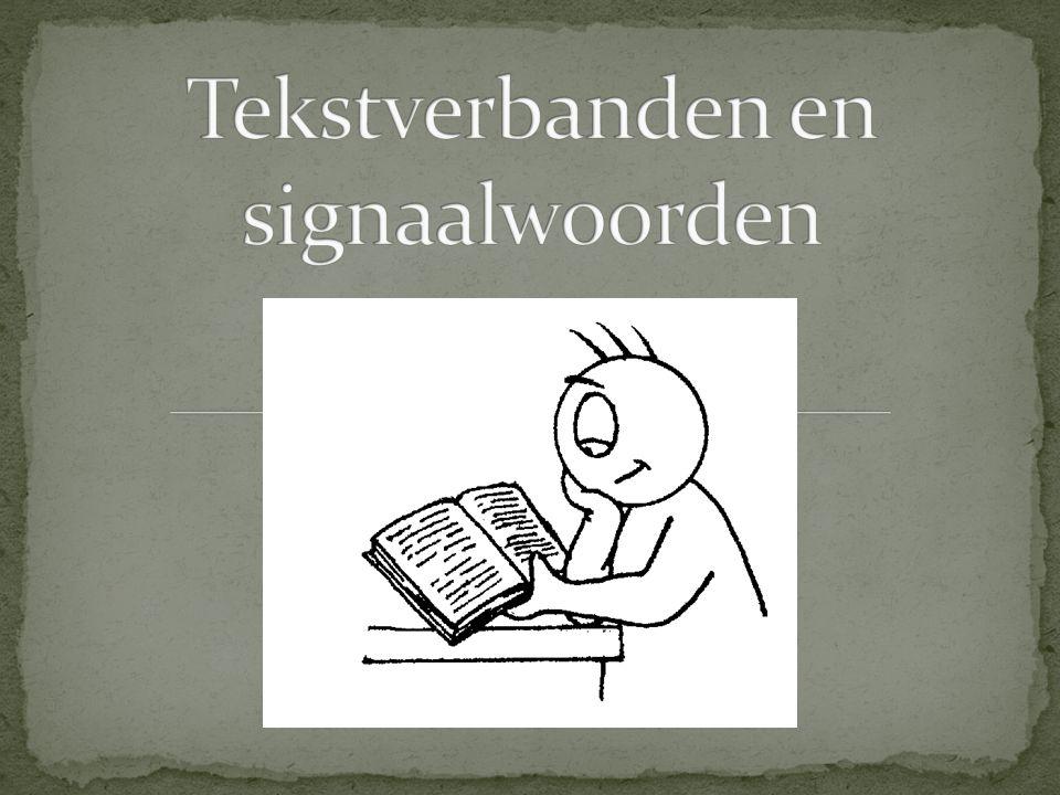 Tekstverbanden en signaalwoorden