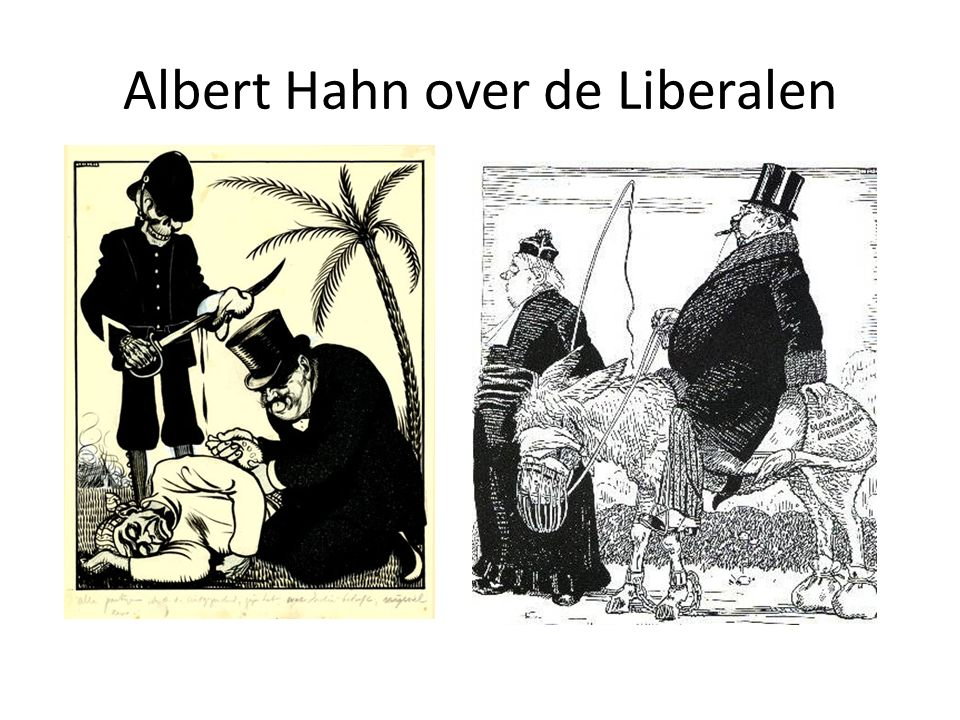 Albert Hahn over de Liberalen