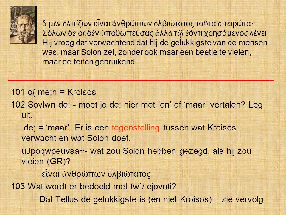 uJpoqwpeuvsa~- wat zou Solon hebben gezegd, als hij zou vleien (GR)