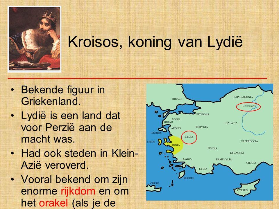 Kroisos, koning van Lydië