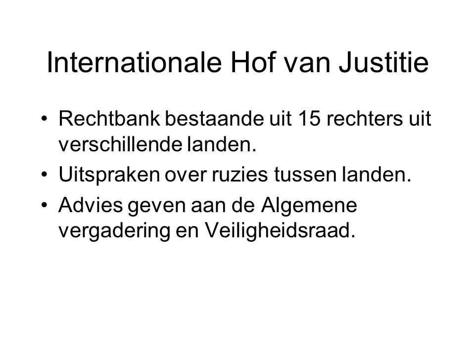 Internationale Hof van Justitie