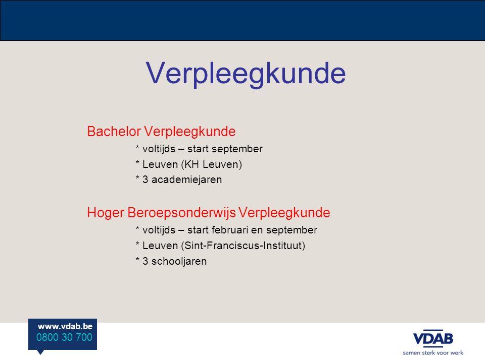 Verpleegkunde Bachelor Verpleegkunde