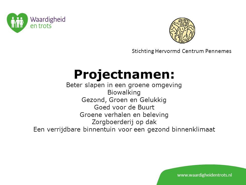 Projectnamen: Stichting Hervormd Centrum Pennemes