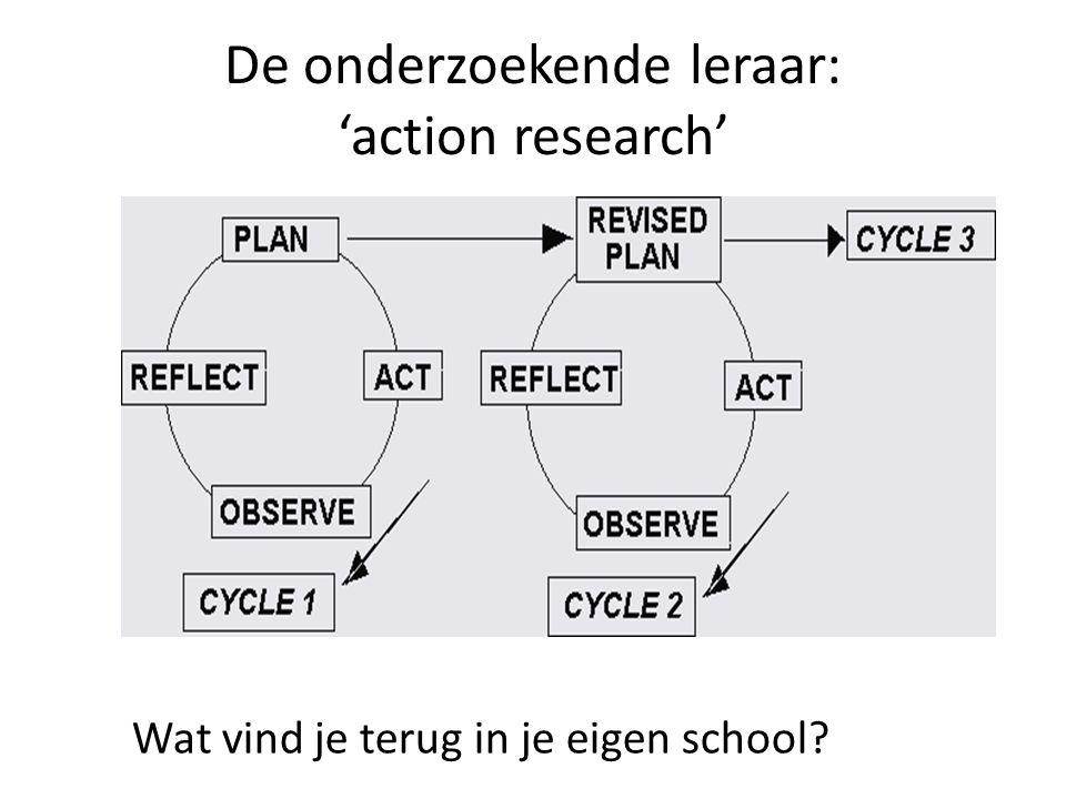De onderzoekende leraar: 'action research'