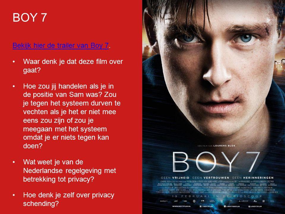 BOY 7 Bekijk hier de trailer van Boy 7.