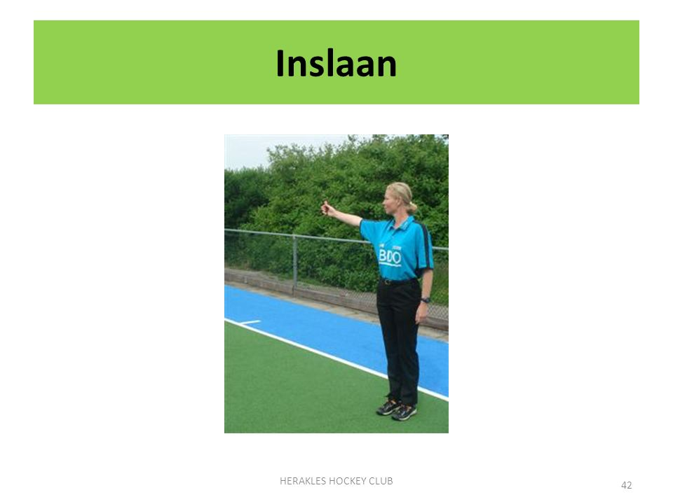 Inslaan HERAKLES HOCKEY CLUB