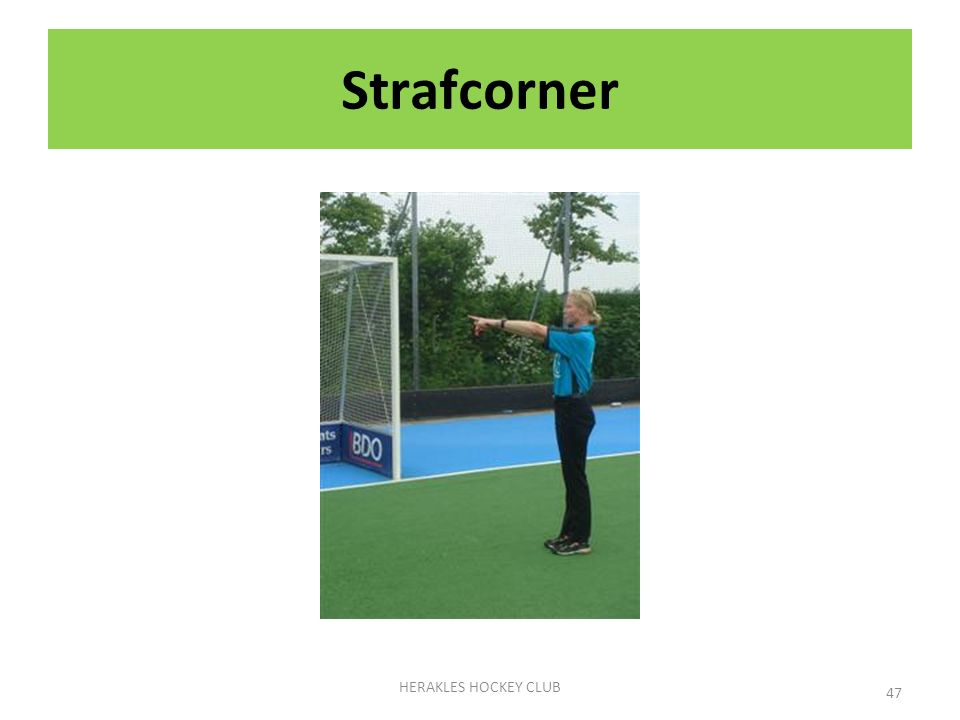 Strafcorner HERAKLES HOCKEY CLUB