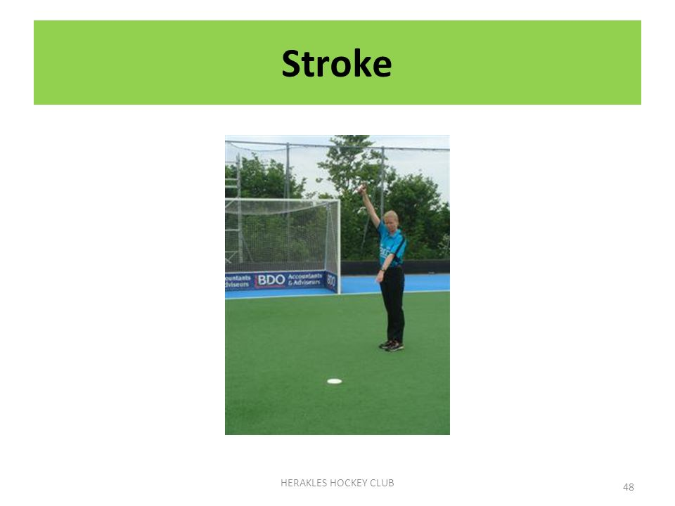 Stroke HERAKLES HOCKEY CLUB