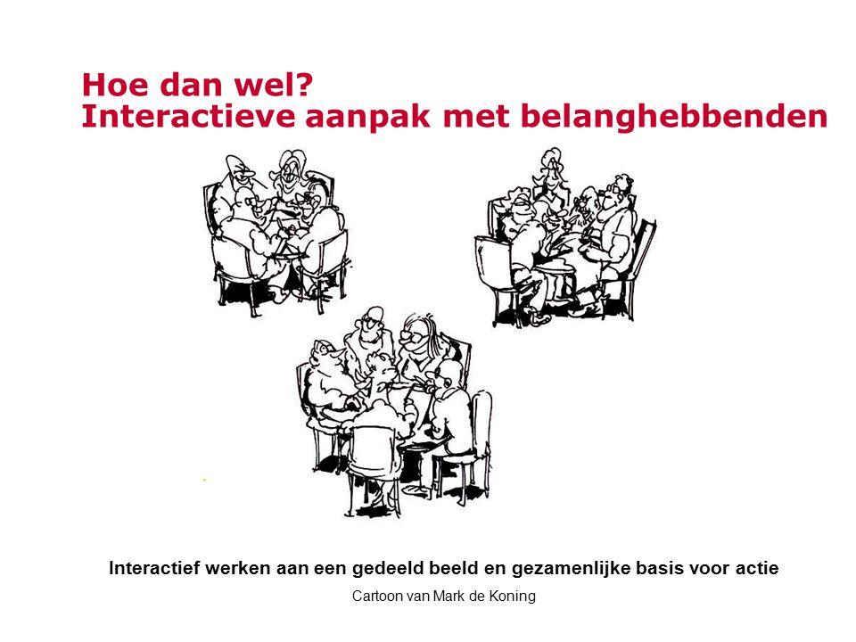 Hoe dan wel Interactieve aanpak met belanghebbenden