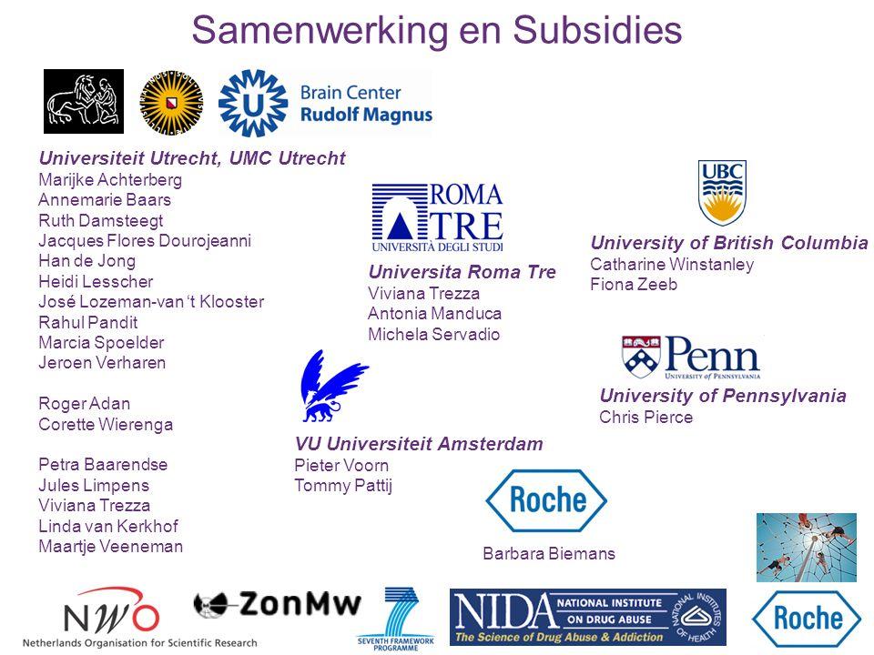 Samenwerking en Subsidies