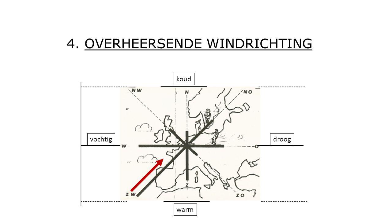 4. OVERHEERSENDE WINDRICHTING