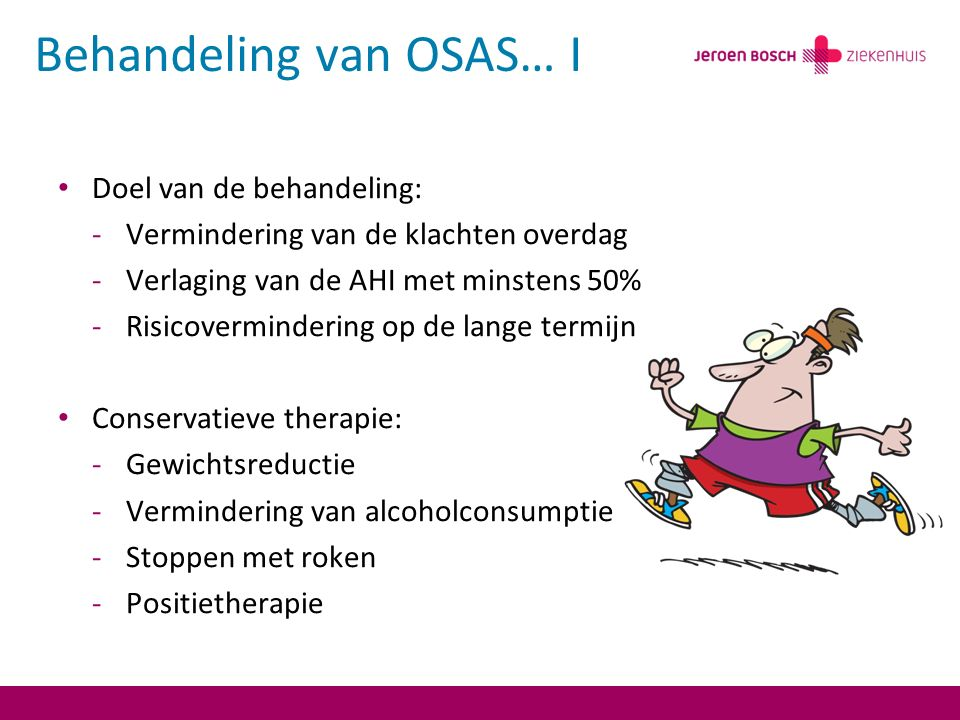 Behandeling van OSAS… I