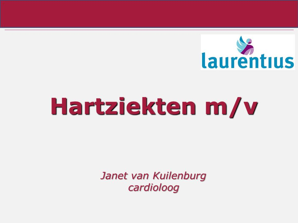 Hartziekten m/v Janet van Kuilenburg cardioloog