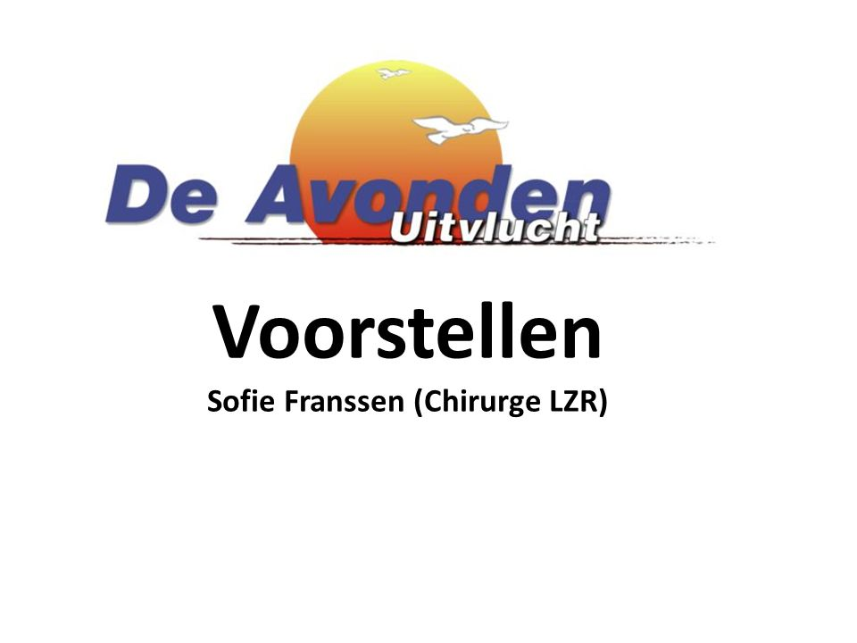 Sofie Franssen (Chirurge LZR)