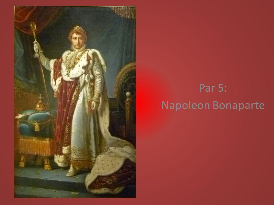 Par 5: Napoleon Bonaparte