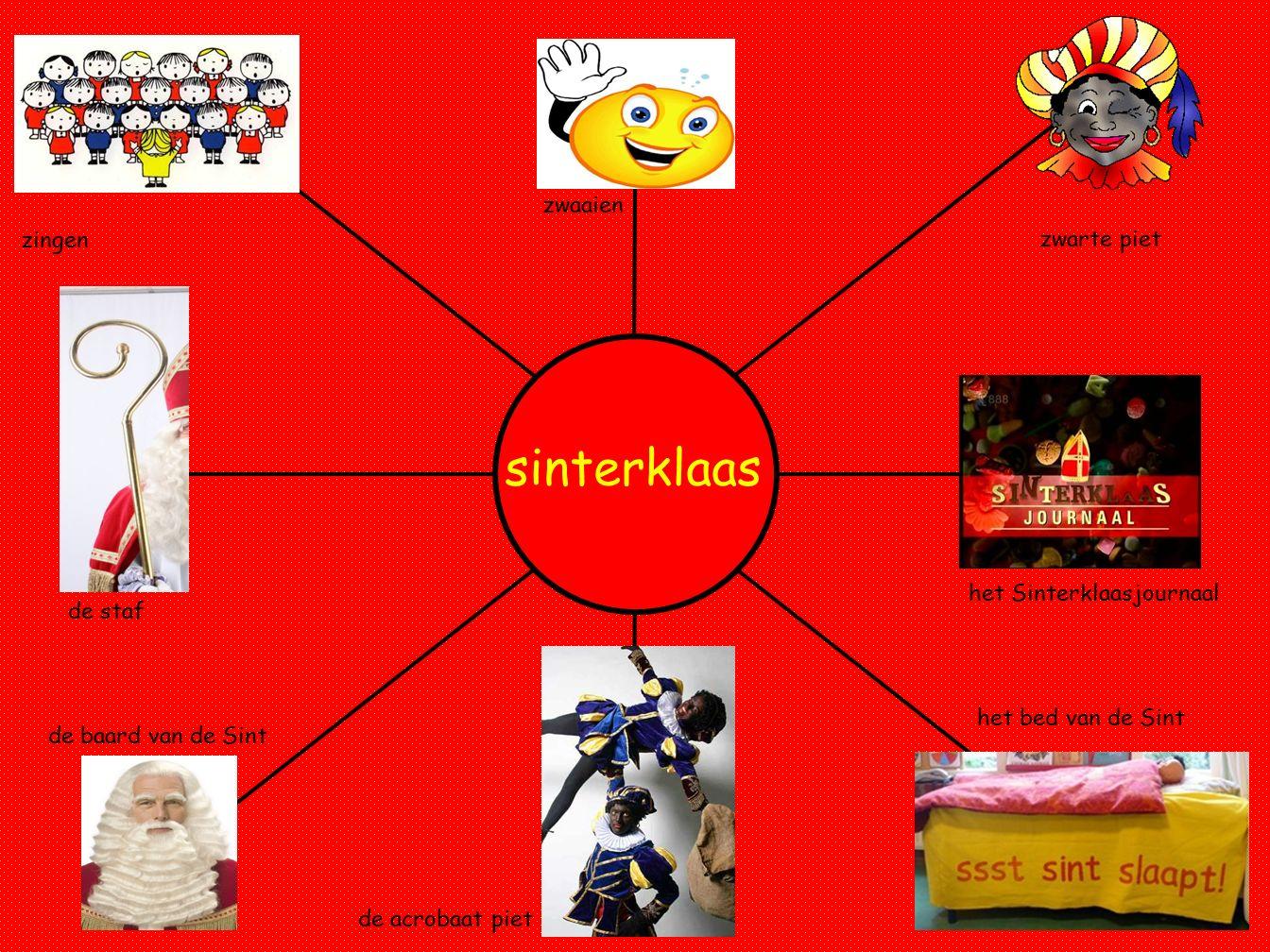 sinterklaas zwaaien zingen zwarte piet het Sinterklaasjournaal de staf