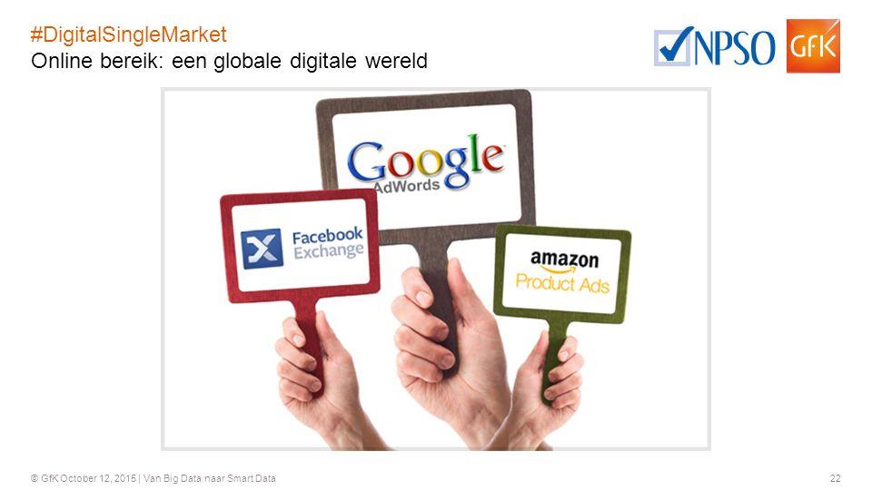 #DigitalSingleMarket Online bereik: een globale digitale wereld