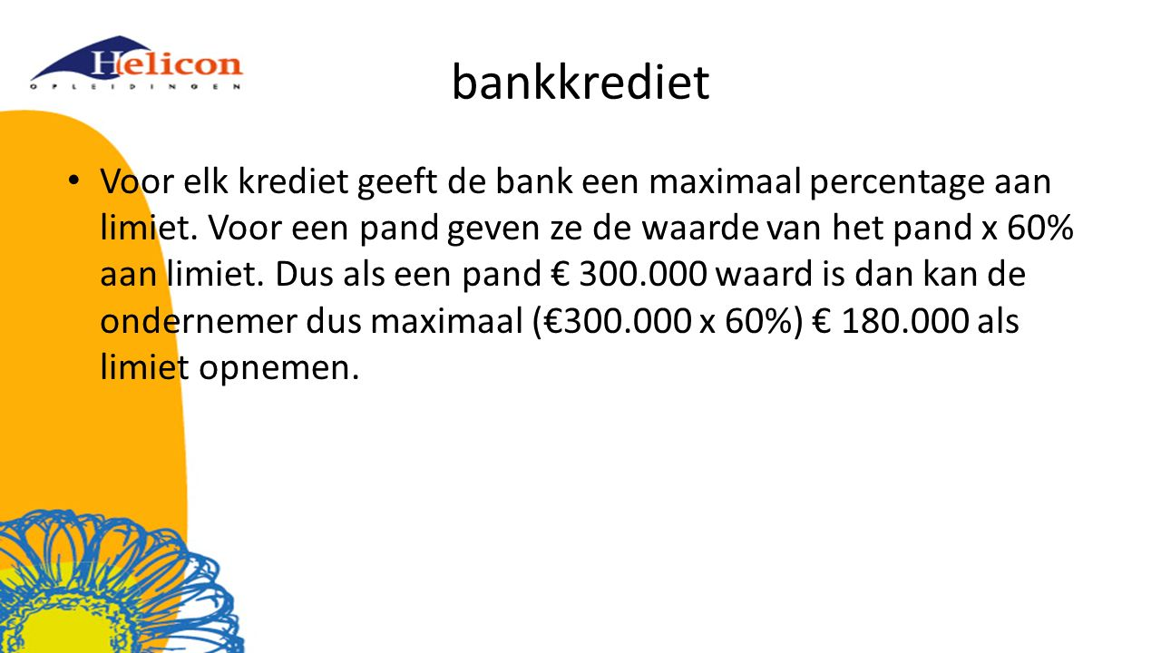 bankkrediet