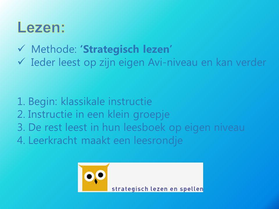 Lezen: Methode: 'Strategisch lezen'