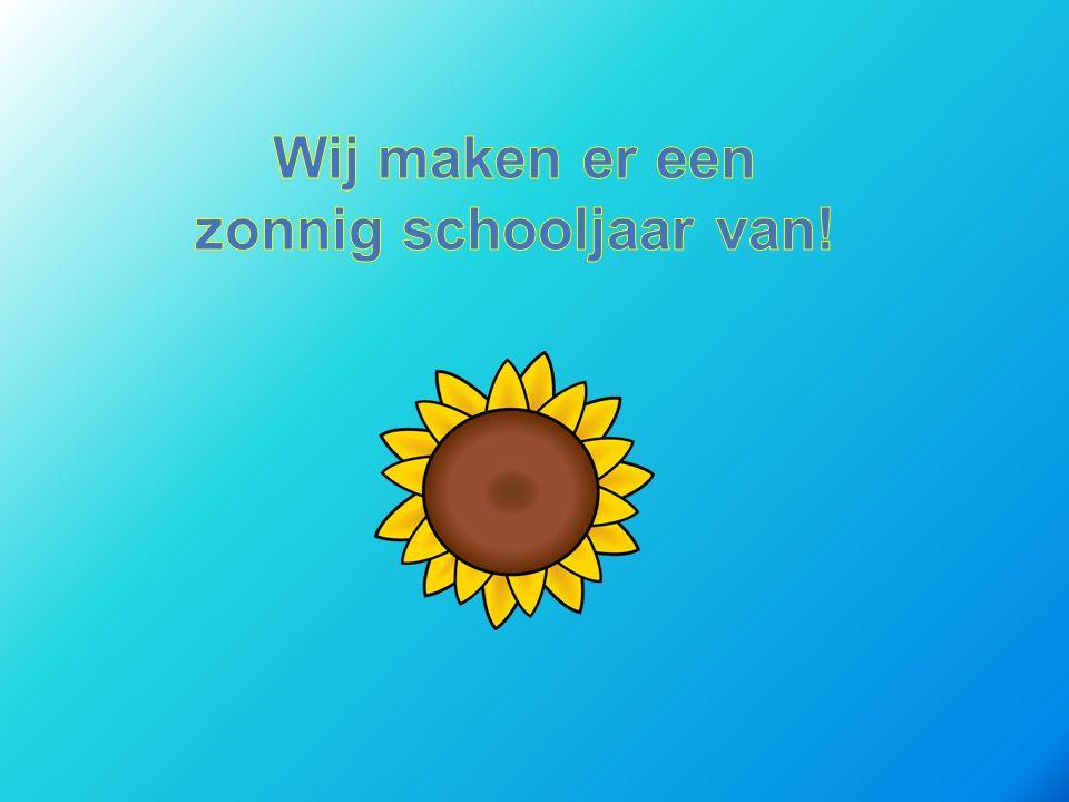 Wij maken er een zonnig schooljaar van!
