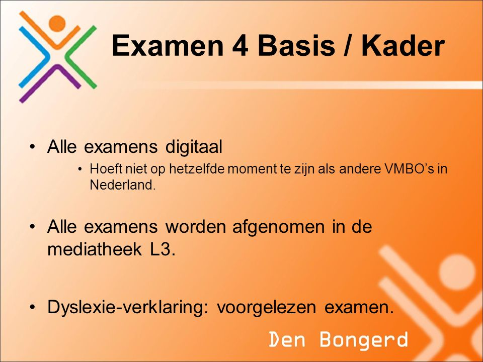 Examen 4 Basis / Kader Alle examens digitaal