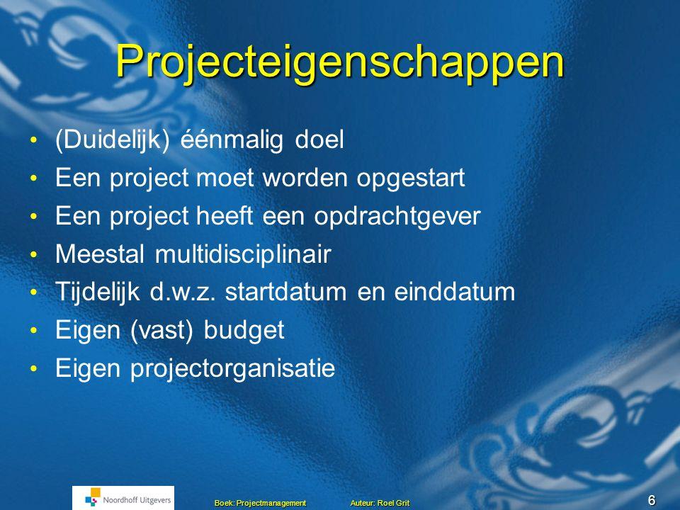 Projecteigenschappen