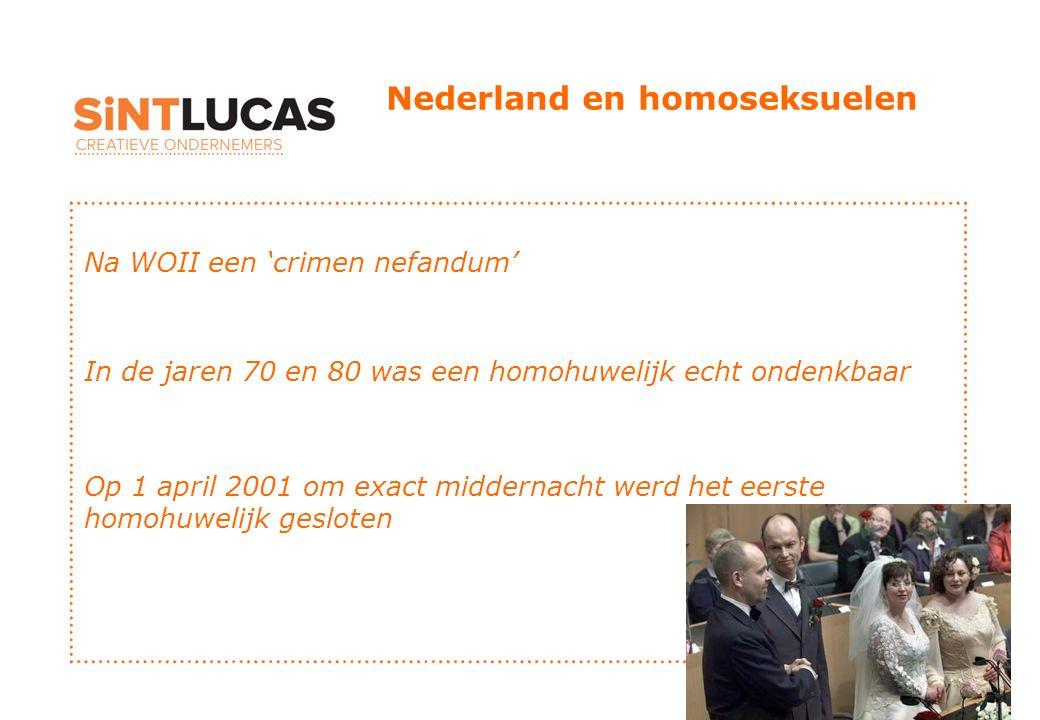 Nederland en homoseksuelen