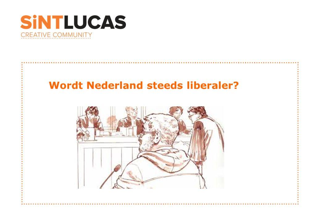 Wordt Nederland steeds liberaler