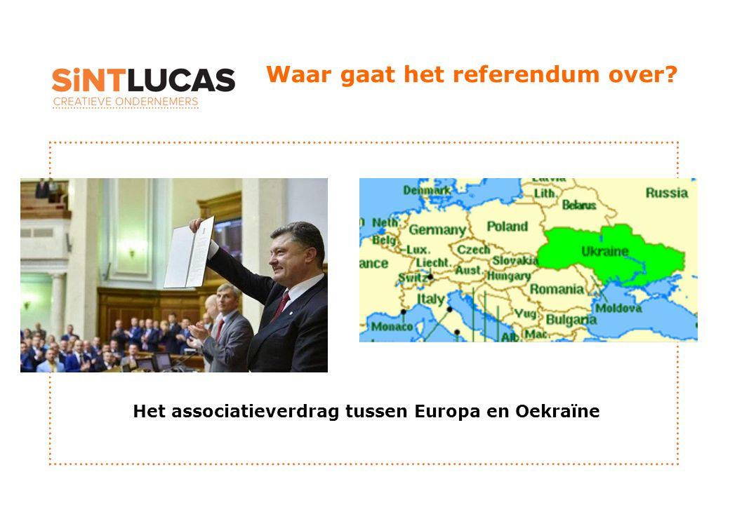 Waar gaat het referendum over