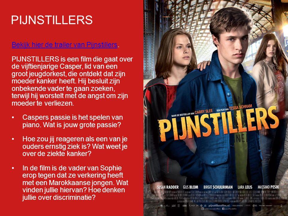 PIJNSTILLERS Bekijk hier de trailer van Pijnstillers.