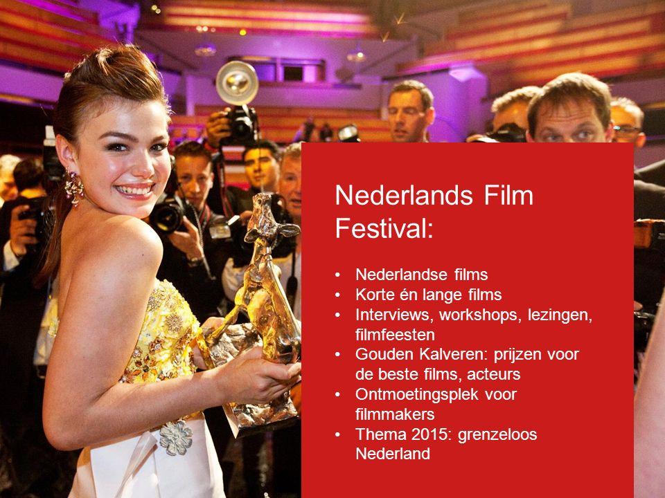 Nederlands Film Festival: