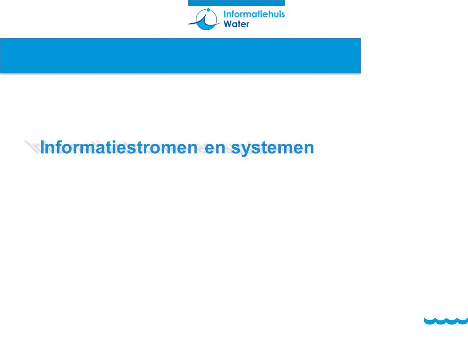 Informatiestromen en systemen