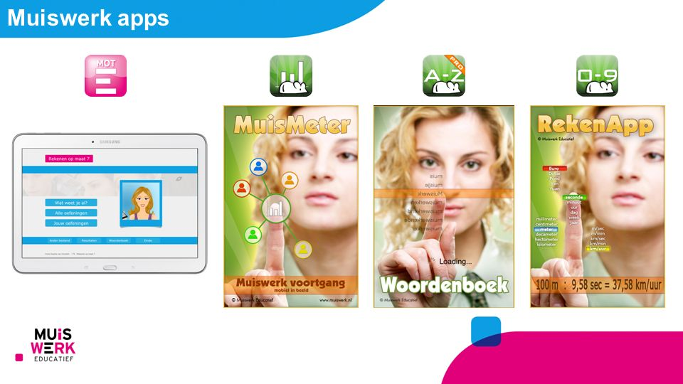 Muiswerk apps
