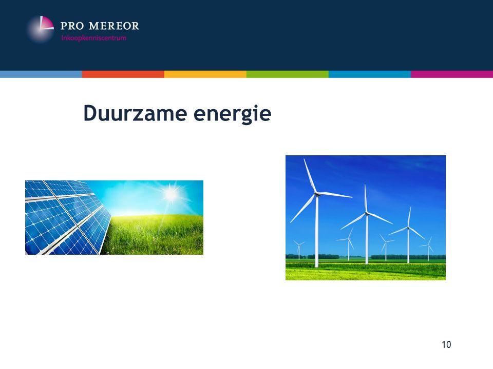 Duurzame energie Europese Aanbestedingen