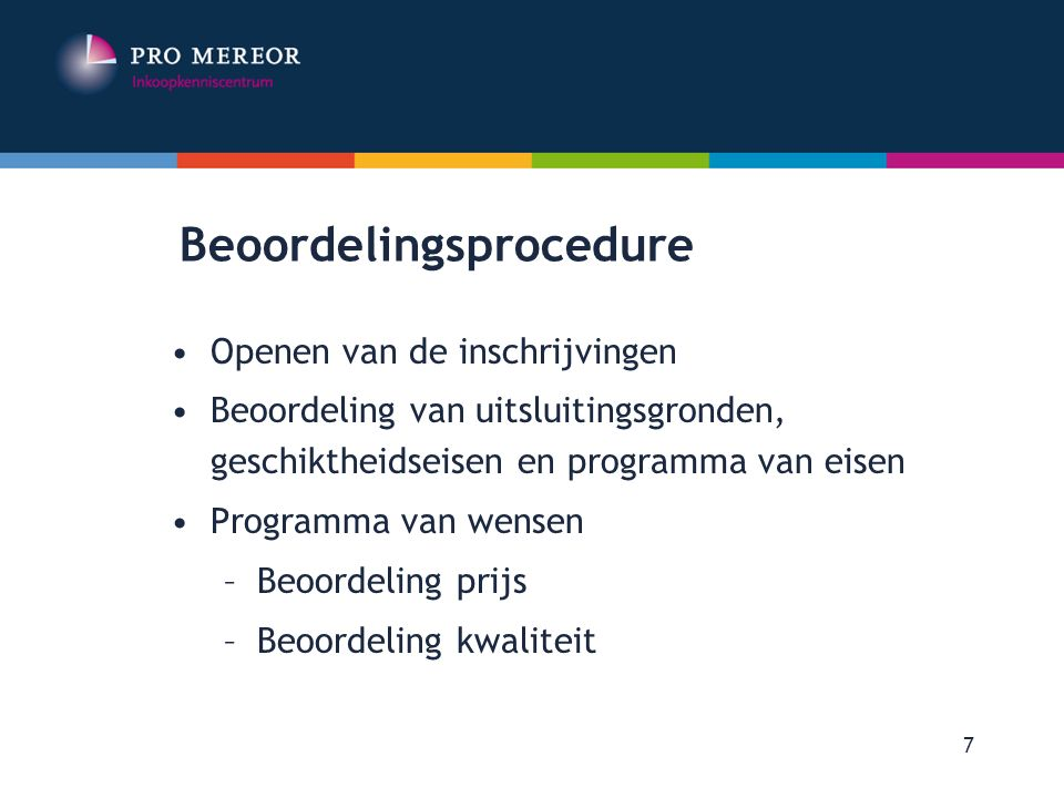 Beoordelingsprocedure