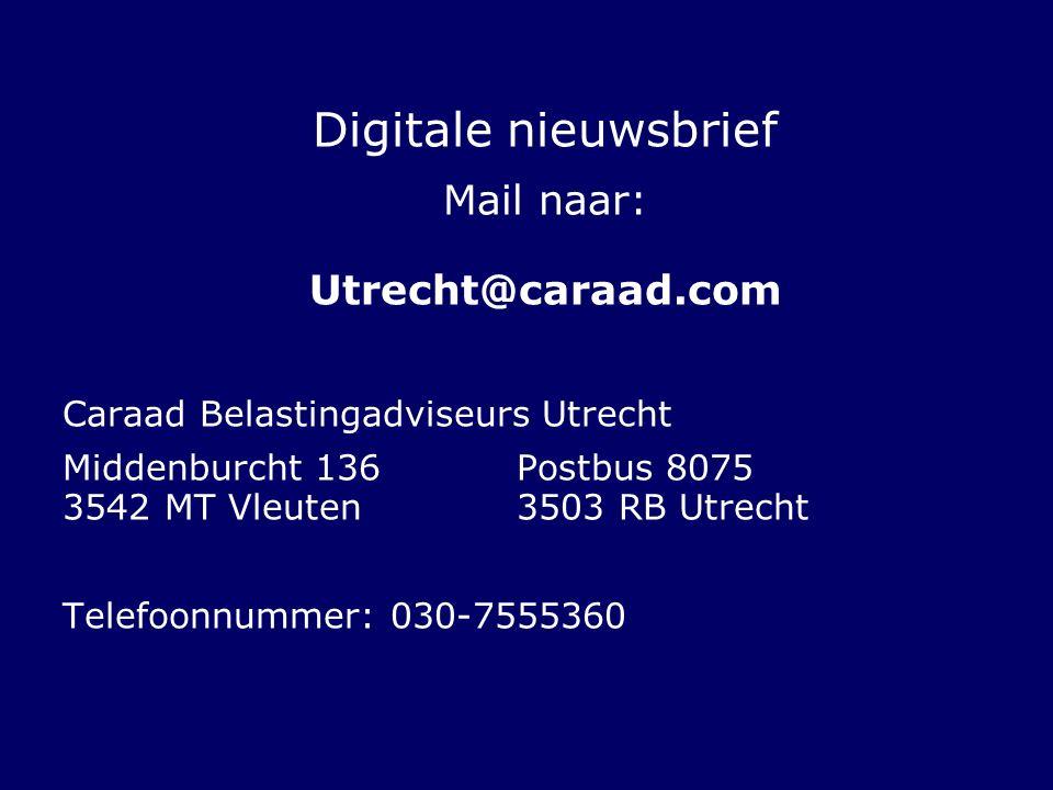 Mail naar: Utrecht@caraad.com