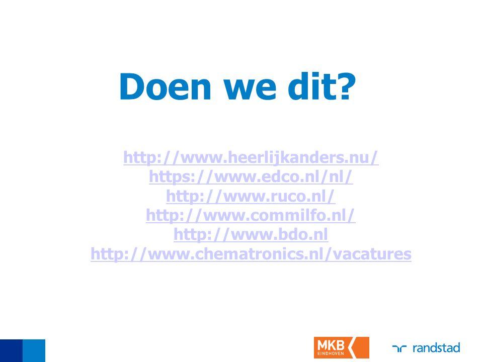 Doen we dit http://www.heerlijkanders.nu/ https://www.edco.nl/nl/