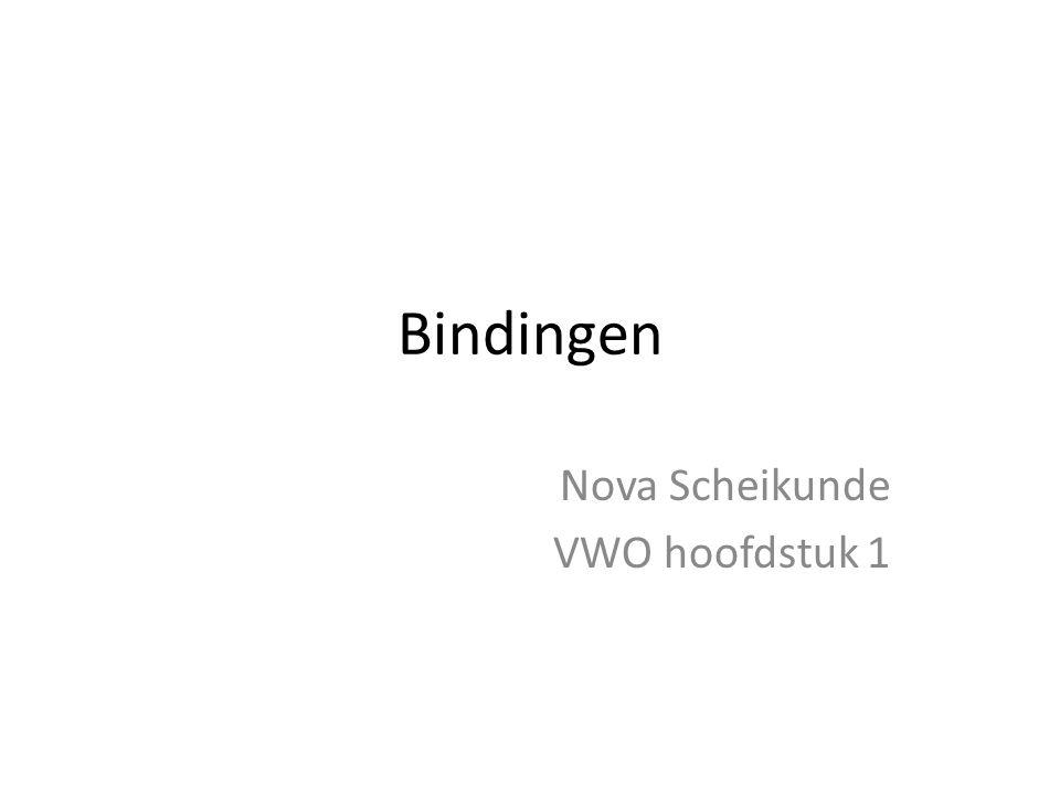 Nova Scheikunde VWO hoofdstuk 1
